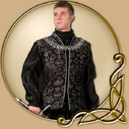 Costume -Tudor Black Vest